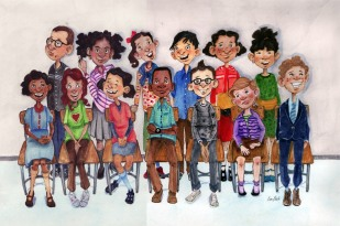 Class Picture, by K. Holt
